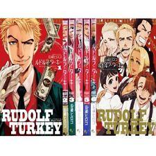 Manga RUDOLF TURKEY VOL.1-7 Comics Complete Set Japan Comic F/S