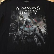 Assassins Creed Unity Shirt  Graphic Black  Large NWT