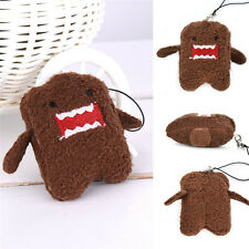 Small Pretty Domo Plush Toy Doll Pendant Keychain Cosplay Anime Best Gift 2.76in