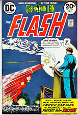 The Flash 224 Vf/Nm (9.0) Green Lantern 1973 Dc Comics Barry Allen Tv Show Books