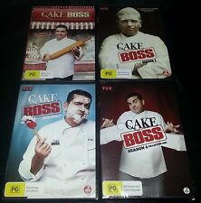 Cake Boss Seasons 1-3 & 4 Collection 1 ( 11 DVD's )
