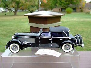Franklin Mint 1/24th Scale 1940 Duesenberg-VERY NICE-