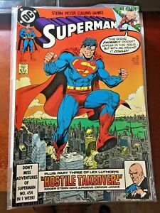 "Superman #31 ""Hostile Takeover"" Part 3 May 1989 DC Comics"
