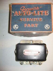 1940s vrw 4001 a Auto-Lite Voltage Regulator Chrysler Dodge Plymouth DeSoto NOS