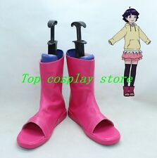 Boruto Naruto the Movie Uzumaki Himawari Hima Cosplay Boots shoes shoe boot