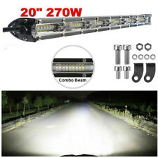 20 Inch White LED Work Light Bar Spot Flood Beam Offroad  Fog Driving 4WD 4x4