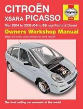Haynes CITROEN XSARA PICASSO (04-08) DESIRE VTX LX Owners Repair Manual Handbook