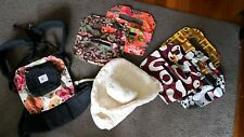 Ergo Baby Carrier, Infant Insert and various fabric covers. GREAT CONDITION.