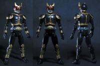 Japan Rare Bandai Shokugan Shodo Kamen Rider Kuuga Amazing Mighty Action Figure