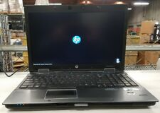 HP EliteBook 8540w Core i7 2.80GHz 320GB HDD 4GB RAM Webcam - A/C Adapter NO O/S
