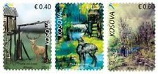 Kosovo Stamps 2019. National Park Blinaja. Fauna. Deer. Set MNH