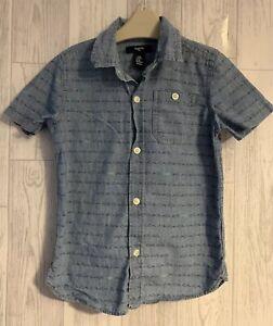 Boys Age 4-5 Years - Gap Summer Shirt - Tiny Sharks Designs