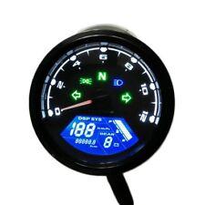 Compteur Digital Led Complet Compte Tour Moto Cafe Racer Triumph Honda Guzzi ...