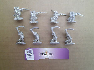 15mm Reaper Miniatures Undead Shadow Corp  Undead  with  Scyckle
