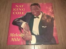 "NAT KING COLE "" MELODY MILE "" VINYL LP EX/EX 1960 WORLD RECORD CLUB"