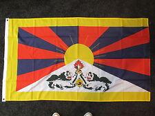 Tibetan Flag Peace Dalai Lama Demo Political Buddhist Tibet Travel 5x3 BN