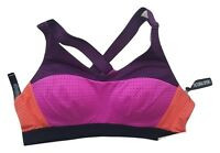 Victoria's Secret Victoria Sport Lightweight Sports Bra Colorblock 36B NWT