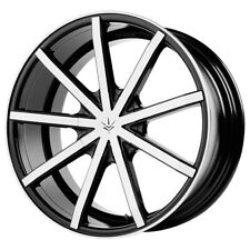 New Listing4 20 Inch Verde V69 Contra 20x85 5x11435x108 35mm Blackmachined Wheels Rims Fits Camry
