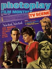 Photoplay Magazine October 1977     Linda Blair   Liza Minnelli   Robert Redford