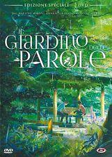 IL GIARDINO DELLE PAROLE di Makoto Shinkai - edizione speciale - dvd