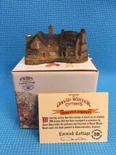 David Winter Cornish Cottage - Dwc 13 - with box and Coa