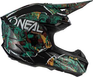 2021 O'Neal Adult 5 Series Savage Dirtbike Helmet - Offroad ATV