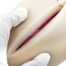 Medical Suture Training Human Skin Model Pad Repeated practice for Student Nurse