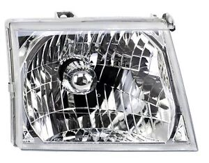 Right Crystal H4 Halogen Headlight for Ford Ranger 2002-2006