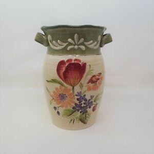 "Pamela Gladding Bouquet Vase 10"" Cert Intl"