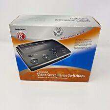 Radio Shack 4 Channel Video Surveillance Switchbox, 49-2533