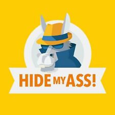 Hide My ASS! HMA VPN 1 Year Unlimited Devices KEY Instant Email Delivery