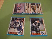 1989/90 O-Pee-Chee OPC Toronto Maple Leafs Team Set