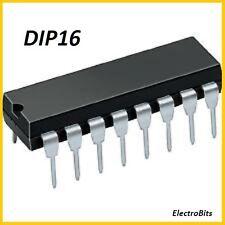 1X 74LS174DC Integrated Circuit Case DIP16 Hex D-Type Flip-Flop