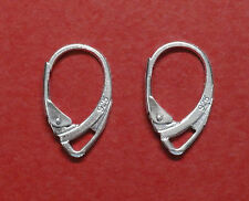 lot of 20 pcs 925 Solid Sterling Silver Lever Back Earring Finding Ear Wire