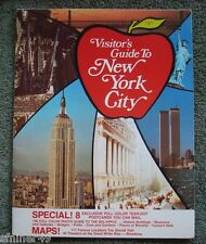 World Trade Center  - Twin Towers - WTC - Visitors Guide To New York City