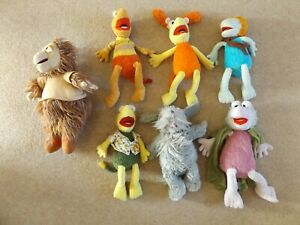 Fraggle Rock Soft Toy Plush Bundle Job Lot Muppets 2009 Mokey Boober Wembley Red