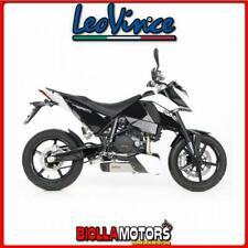 8258 SCARICO LEOVINCE KTM 690 DUKE LC4 2008-2011 UNDERBODY INOX/CARBONIO