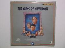 The Guns Of Navarone LASERDISC Videodisc David Niven Laser Vision