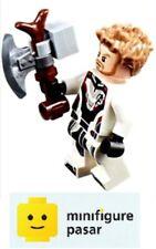 sh572 Lego Marvel Avengers Endgame 76126 - Thor Minifigure w Weapon - New