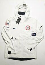 Nike Tech Fleece Windrunner Hoodie Team USA Olympics Size M MEDIUM [909530-100]