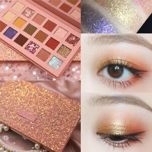 Women Eyeshadow Palette Fashion Glitter Matte Waterproof Sweatproof Eye Makeup