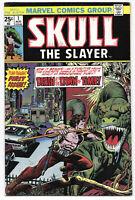 Skull The Slayer #1 1975 VF Marvel Comics Free Bag/Board
