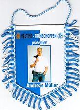 FC Schalke 04 + Wimpel + Banner + SFCV + Andreas Müller + Veltins Frühschoppen +