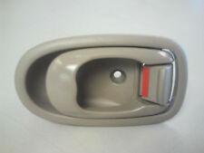 2001-2004 Kia Spectra Driver Side Inside Rear Door Handle Beige 0K2N1-59330A75