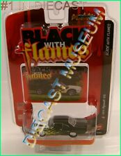 1970 '70 PLYMOUTH GTX  BLACK WITH FLAMES STREET FREAKS JOHNNY LIGHTNING DIECAST