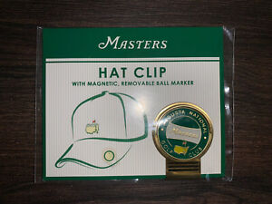 Masters Tournament Hat Clip Ball Marker Magnetic 2021 Green New