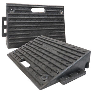 HEAVY DUTY Kerb Ramps  Pack of Two (Perfect for HGV use) - VERY HARD WEARING