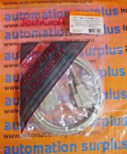 TECHCRAFT 6FT. 9 PIN DB9 MALE TO DB9 FEMALE EXTENSION CABLE NEW QUANTITY!!