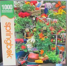 """Springbok """" GARDEN DELIGHTS """" PUZZLE 1000 33-10539"""