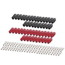 ANDERSON POWERPOLE Sermos Stlye 30 Amp (25 pair) AC/DC Connectors Red/Black